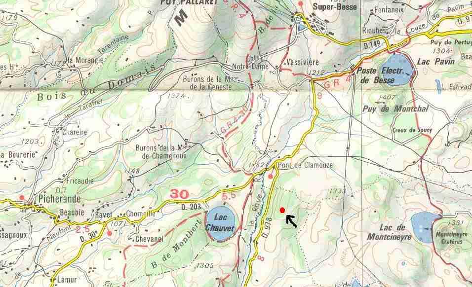 (1952) Lac Chauvet, France, Puy-de-Dôme - Page 2 Spot_small